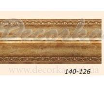 Карниз угловой Арт Багет 140-126 2,4м