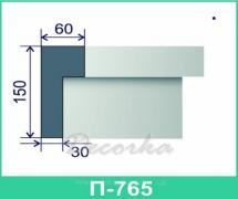 Межэтажная разделительная полоса ТМ Фасад Декор П-796 2м.