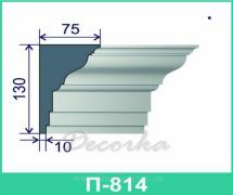 Молдинг фасадный ТМ Фасад Декор П-814 2м.