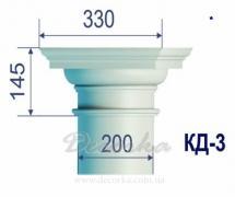Капитель для колонны ТМ Фасад Декор КД-3