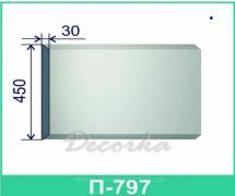 Межэтажная разделительная полоса ТМ Фасад Декор П-797 2м.