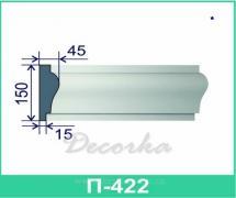 Межэтажная разделительная полоса ТМ Фасад Декор П-422 2м.