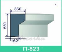 Карниз фасадный ТМ Фасад Декор П-823 2м.