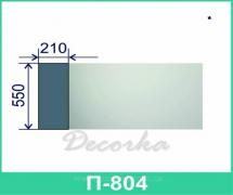 Межэтажная разделительная полоса ТМ Фасад Декор П-804 2м.