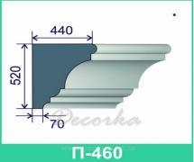 Карниз фасадный ТМ Фасад Декор П-460 2м.