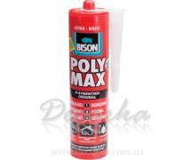 Клей-герметик Bison Poly Max Прозрачный 310мл