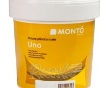 Краска водоэмульсионная Monto Uno Tixoless Mate 0,75л