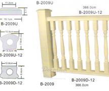 Балюстрада Обрамление столба Classic Home B-2009U