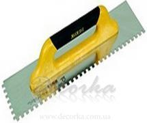 Кельма зубчатая 500х120мм (10х10мм) Dekor (art. 435)