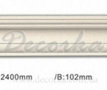Карниз гибкий с гладким профилем Classic Home ET-8509Q 2,4м