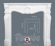 Накладная панель для камина Orac Luxxus H100A