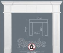 Накладная панель для камина Orac Luxxus H101A