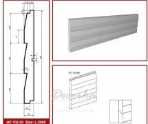 Накладная панель Prestige Decor HC-102-50 2м