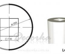 Колонна гладкая Prestige Decor LC-101-2 2м