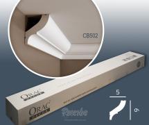 Карниз с гладким профилем Orac Basixx CB502 2м
