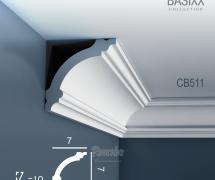 Карниз с гладким профилем Orac Basixx CB511 2м