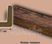 Балка DecoWood Модерн ED104 1м Дуб темный