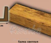 Балка DecoWood Модерн ED105 1м Дуб светлый