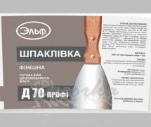 Шпаклевка акриловая Эльф Д-70 1,5кг