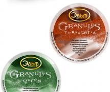 Гранулы для добавления в краску Эльф Decor Granules Terracotta 100г