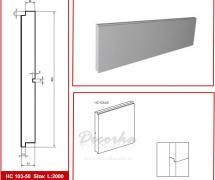 Накладная панель Prestige Decor HC-103-50 2м