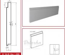 Накладная панель Prestige Decor HC-104-50 2м