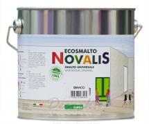 Эмаль Oikos Novalis Smalto Universale глянцевая, белая 2,25л