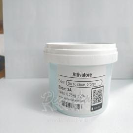 Активатор коррозии №3A Голубой, густой. Attivatore di spessore №3A Blu 0,25кг.